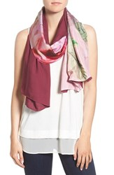 Ted Baker Women's London 'Pure Peony' Split Scarf