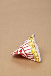 Forever 21 Dynomighty Popcorn Mighty Stash Bag Red White