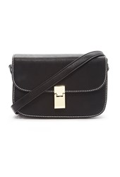Forever 21 Structured Mini Satchel Black
