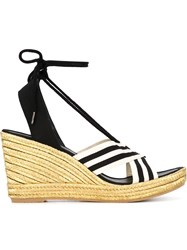 Marc Jacobs 'Dani' Wedge Espadrilles Black