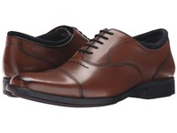 Hush Puppies Evan Maddow Tan Leather Men's Lace Up Cap Toe Shoes