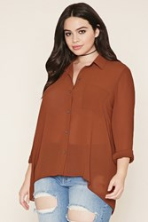 Forever 21 Plus Size Semi Sheer Shirt
