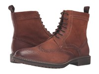 Steve Madden Siftt Tan Leather Men's Lace Up Boots