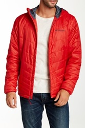 Columbia Mighty Light Hooded Jacket Red