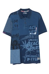 Desigual Albert Polo Shirt Total Eclipse