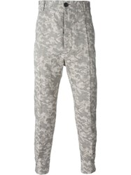 Vivienne Westwood Man Tapered Camouflage Trousers Nude And Neutrals