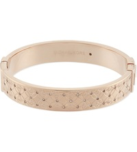 Michael Kors Monogram Etched Bangle Rosegold