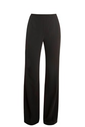 Elie Saab Lace Insert Trousers Black