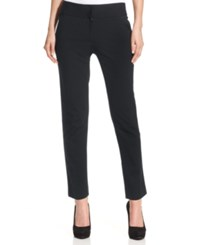 Vince Camuto Straight Leg Ponte Ankle Pants Heather Grey