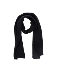U Ni Ty Oblong Scarves Dark Blue