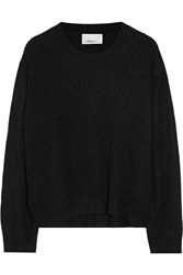 3.1 Phillip Lim Alpaca Cashmere And Silk Blend Sweater Black