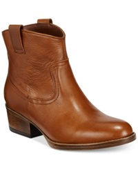 Kenneth Cole Reaction Hot Step Booties Women's Shoes Toffee