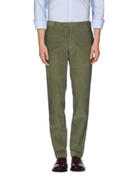 Alain Trousers Casual Trousers Men Military Green