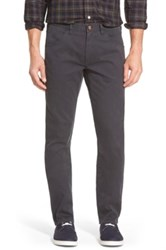 Bonobos 'Bedford' Slim Fit Straight Leg Corduroy Pants Black