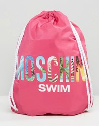 Love Moschino Drawstring Backpack Pink 209