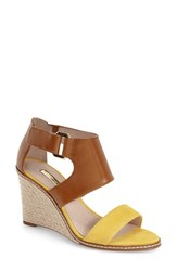 Women's Louise Et Cie 'Rocco' Wedge Sandal Yellow