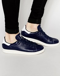 Adidas Originals Stan Smith Reptile Effect Trainers S79299 Blue