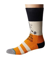 Stance Valentino Gold Men's Crew Cut Socks Shoes
