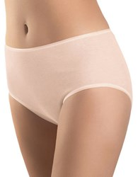 Hanro Seamless Cotton Full Briefs Skin