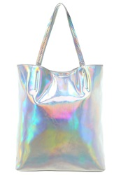 Evenandodd Tote Bag Silver