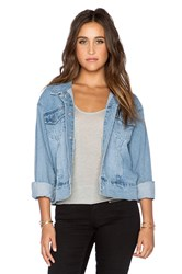 Cheap Monday Slouchy Denim Jacket Whale