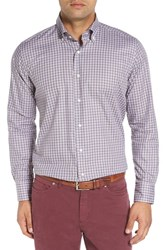 Peter Millar Men's 'St. Moritz Check' Regular Fit Plaid Short Shirt
