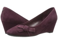 Easy Spirit Shyma Wine Wine Suede Women's Shoes Burgundy