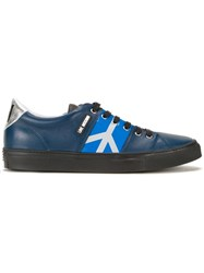 Love Moschino Lateral Logo Sneakers Blue