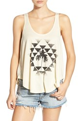 Rip Curl Women's 'Desert Nights' Graphic Tank Natural