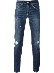 Dondup 'George' Distressed Jeans Blue