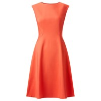 John Lewis Beau Fit And Flare Dress Cayenne