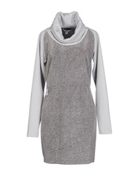 Supreme Being Short Dresses Grey