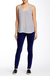 Joie Mid Rise Skinny Pant Blue