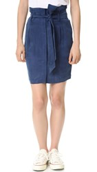 Frame Le Pencil Skirt Navy