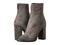 Just Cavalli Burnished Toe High Heel Bootie Litium Women's Zip Boots Pewter
