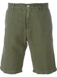 Massimo Alba Classic Chino Shorts Green