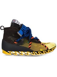 Bernhard Willhelm Bernhard Willhelm X Camper 'Himalayan' Sneakers Yellow And Orange