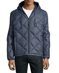 Marc New York Appleton Quilted Puffer Hooded Jacket Ink