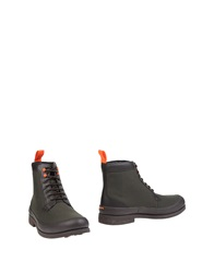Swims Ankle Boots Military Green