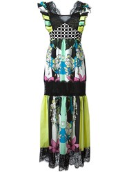 I'm Isola Marras Multiprint Lace Insert Dress Multicolour