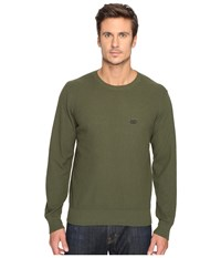 Obey New Times Drifter Sweater Army Men's Sweater Green