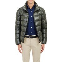 Quilted Puffer Jacket Green