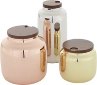 Cb2 3 Piece Capsule Canister Set