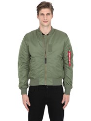 Alpha Industries Ma 1 Vf Reversible Nylon Bomber Jacket