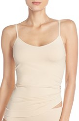 Nordstrom Women's Lingerie Two Way Seamless Camisole Beige Soft