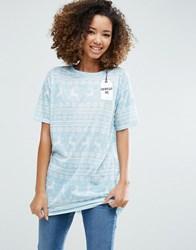 Asos Christmas T Shirt With Unwrap Me Print Multi