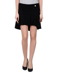 Mangano Mini Skirts Black