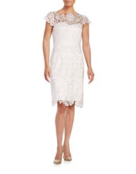 Decode 1.8 Scalloped Lace Dress White