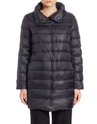 Eileen Fisher Plus Plus Size Fleece Lined Puffer Coat