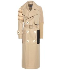 Undercover Cotton Coat Beige